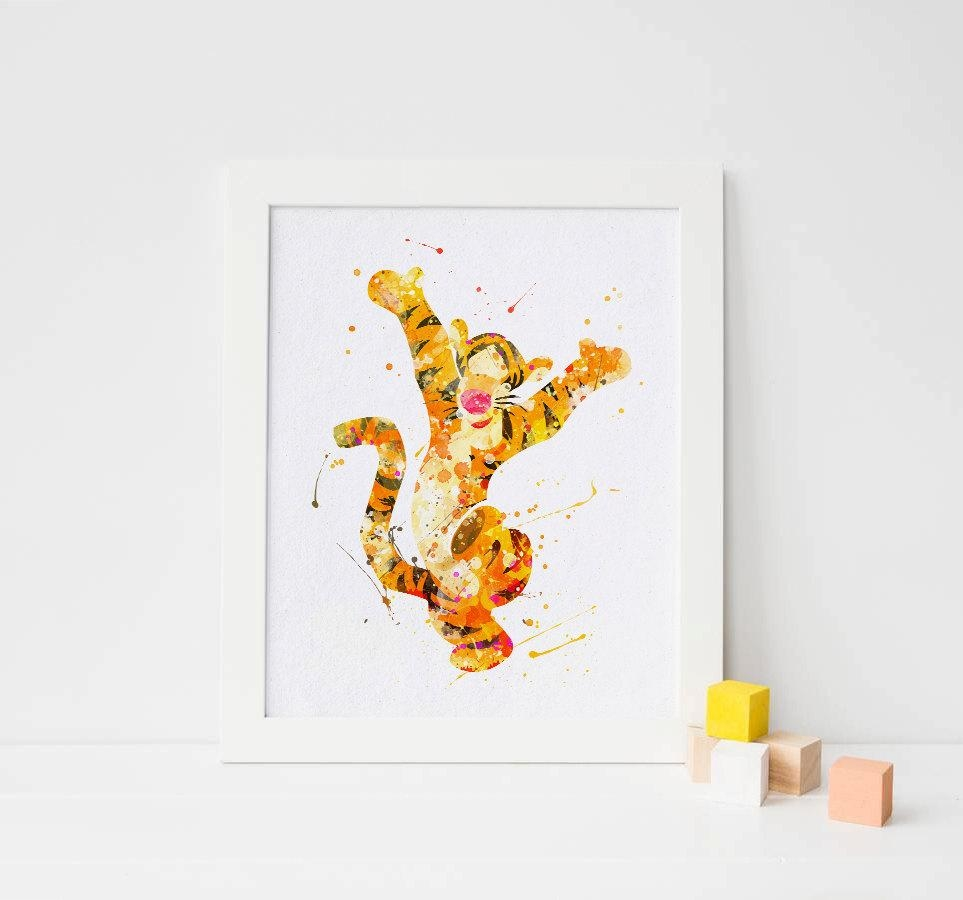 20 collection of winnie the pooh wall art wall art ideas. Black Bedroom Furniture Sets. Home Design Ideas