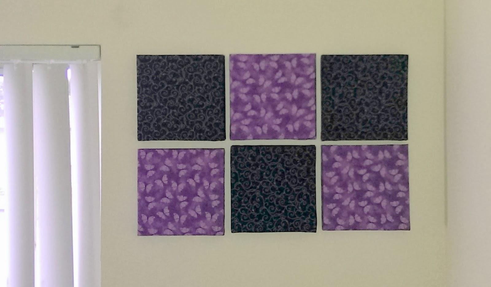 Diy Addiction: Wall Art – Fabric Covered Canvas Within Fabric Canvas Wall Art (Image 6 of 20)