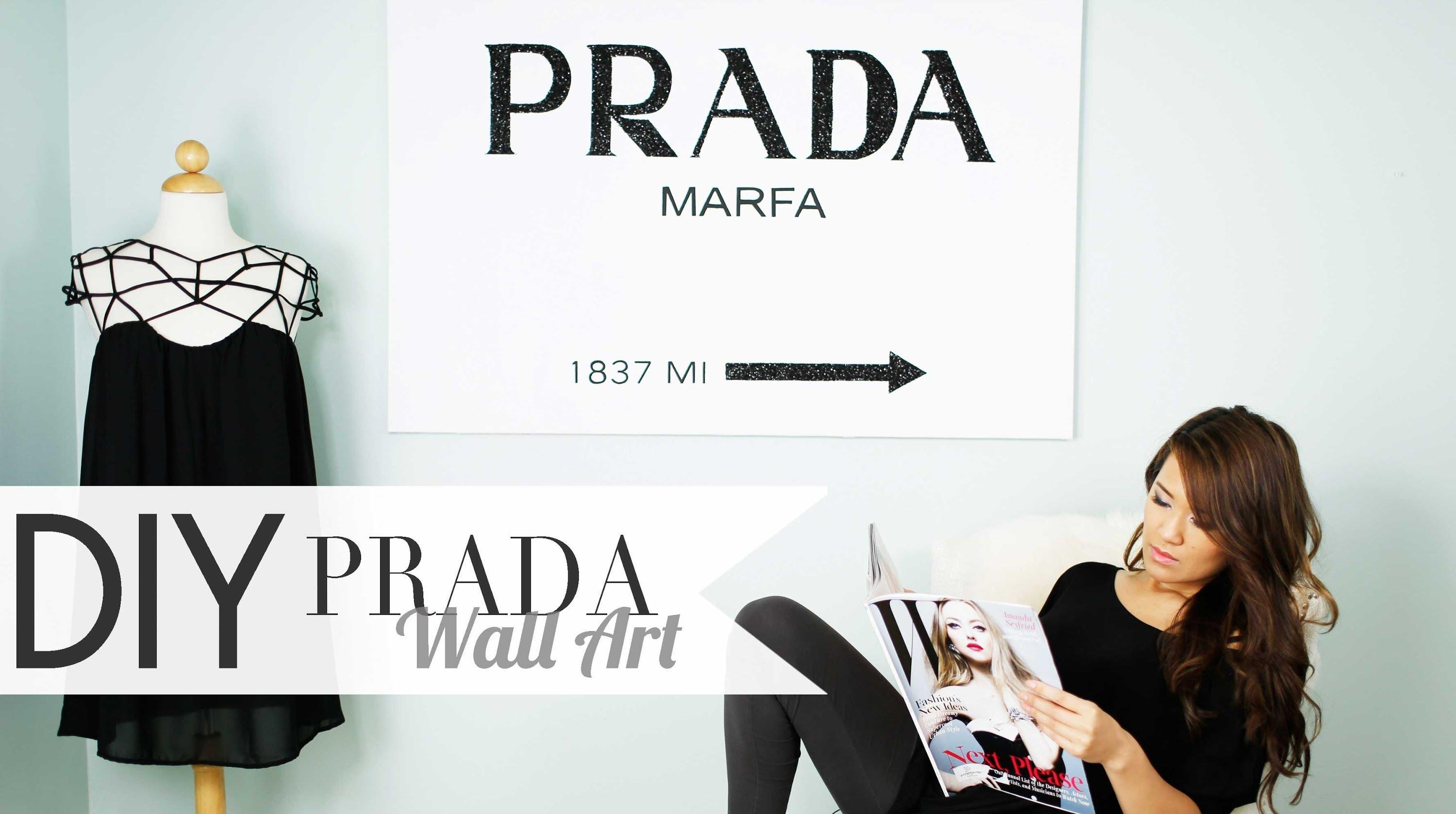 Featured Image of Prada Wall Art