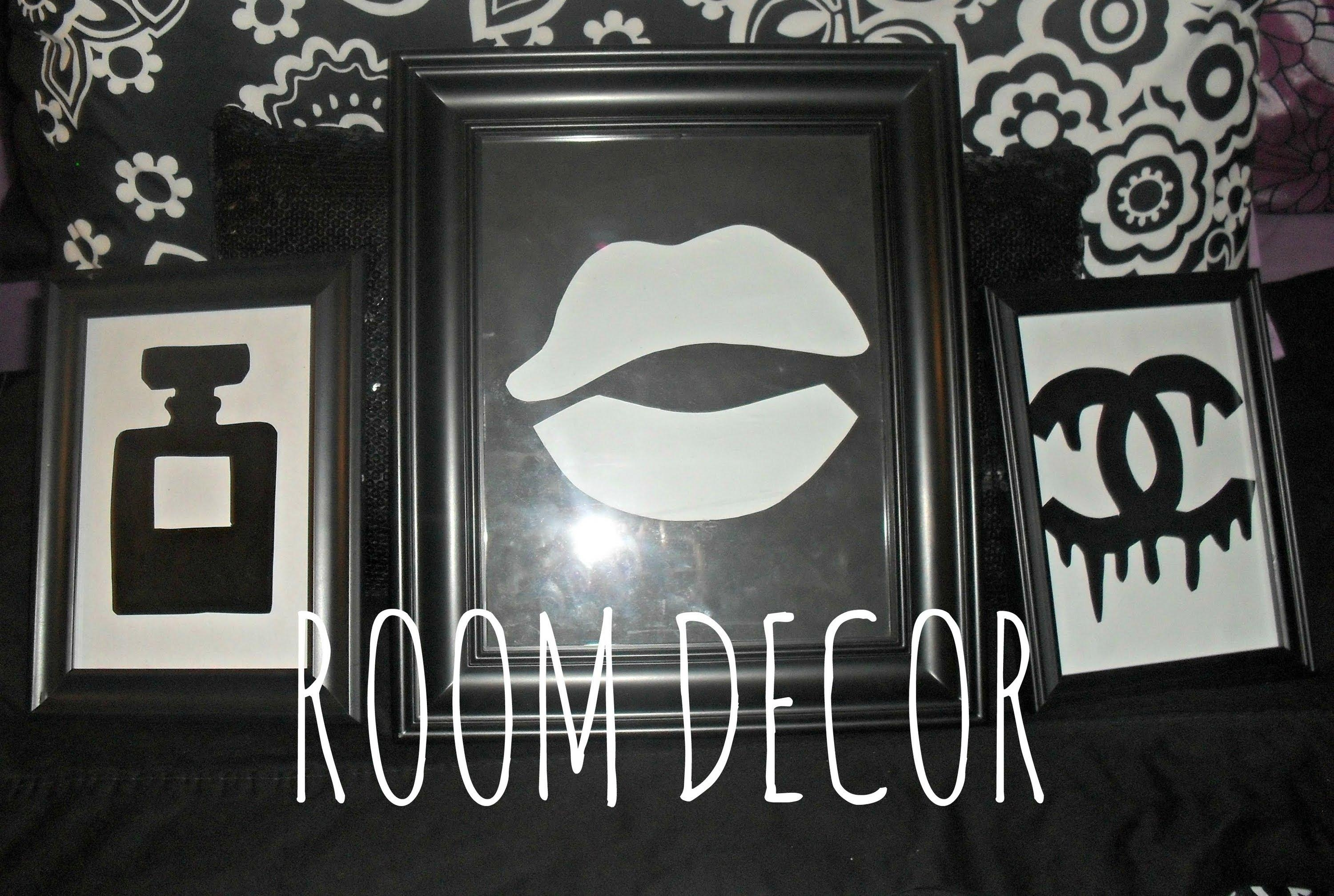 Diy Room Decor: Stencil Wall Decor (Chanel Dripping Logo/perfume Pertaining To Chanel Wall Decor (Image 12 of 20)