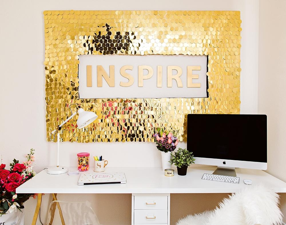 Diy Sequins Wall Art With Regard To Classy Wall Art (Image 12 of 20)