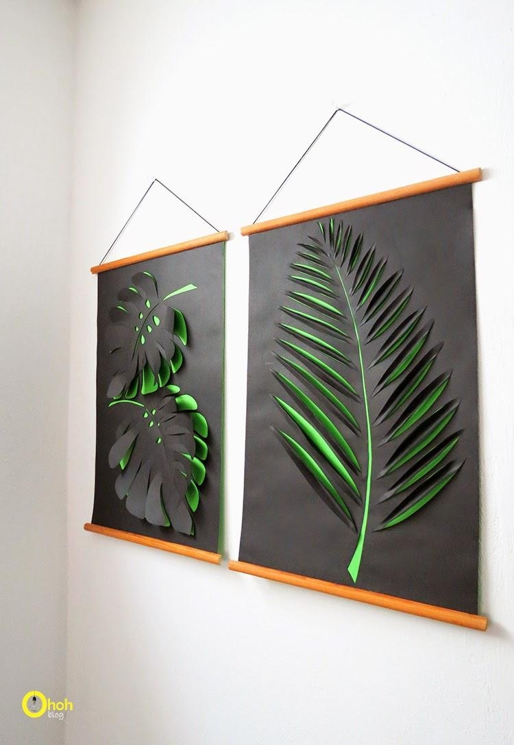 Diy Wall Art – Affordable Art Ideas Pertaining To Palm Leaf Wall Decor (Image 7 of 20)