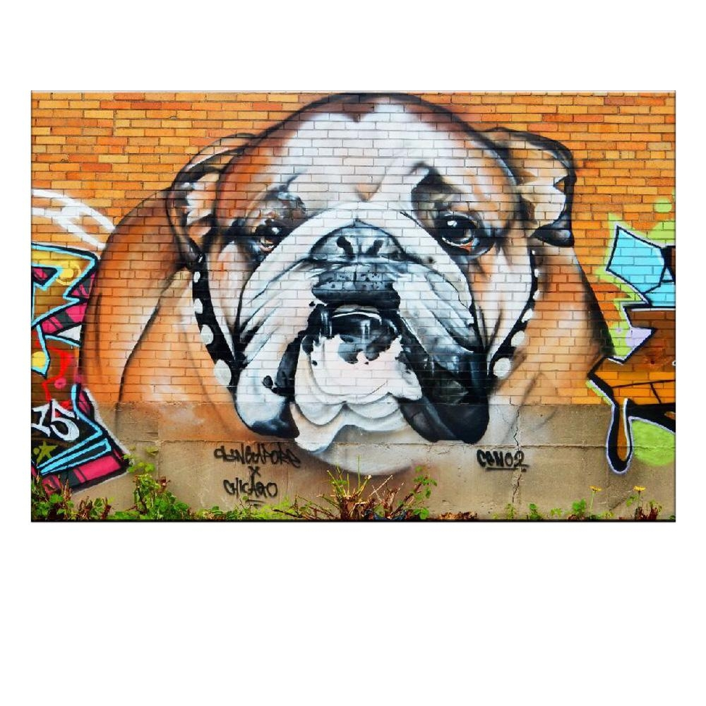 Dog Canvas Wall Art Promotion Shop For Promotional Dog Canvas Wall Regarding Animal Canvas Wall Art (View 12 of 20)
