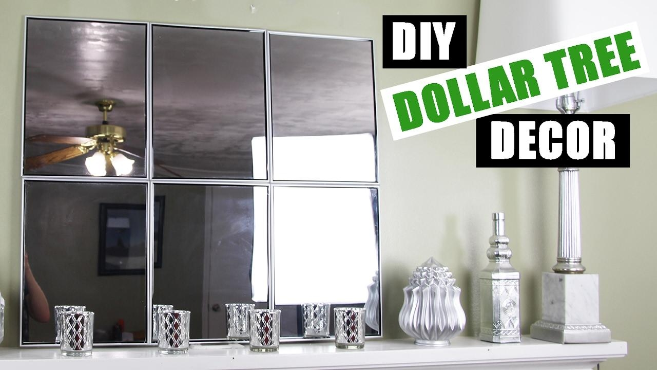 Dollar Tree Diy Mirror Wall Art | Dollar Store Diy Mirror Room For Diy Mirror Wall Art (Image 19 of 20)