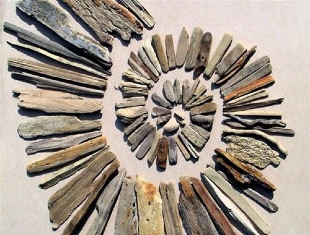 Driftwood Wall Art Ideas | Upcycle Art Driftwood Wall Decor Intended For Driftwood Wall Art (Image 12 of 20)