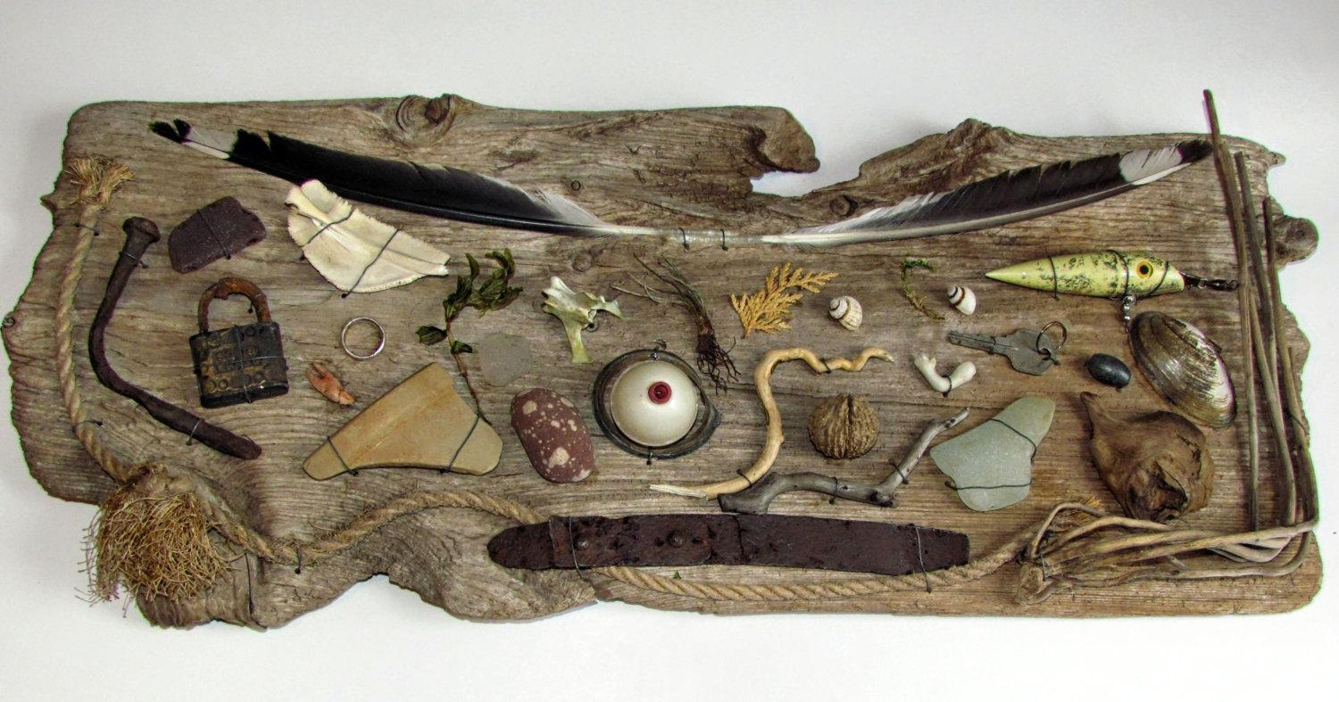 Driftwood Wall Art | Roselawnlutheran Within Large Driftwood Wall Art (Image 8 of 20)