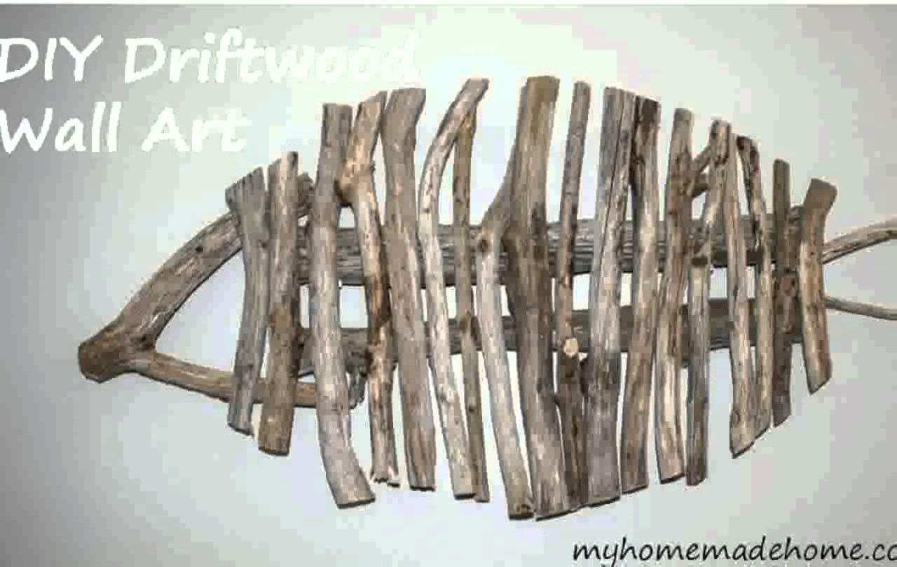 Driftwood Wall Art – Youtube Pertaining To Driftwood Wall Art For Sale (Image 12 of 20)