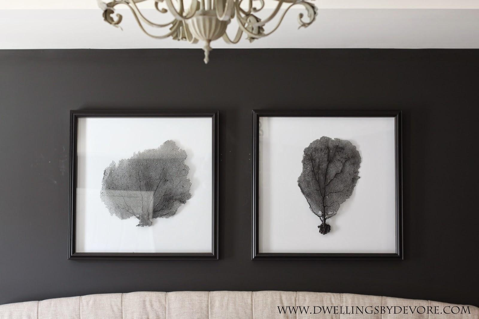 Dwellingsdevore: Diy Sea Fan Art Inside Sea Fan Wall Art (Image 8 of 20)
