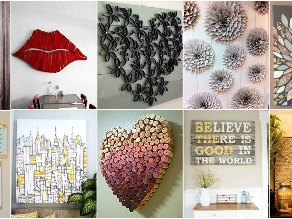 ▻ Decor : 17 Cheap Wall Decor Ideas 10 Ideas For Inexpensive Wall Throughout Cheap Wall Art And Decor (Image 1 of 20)