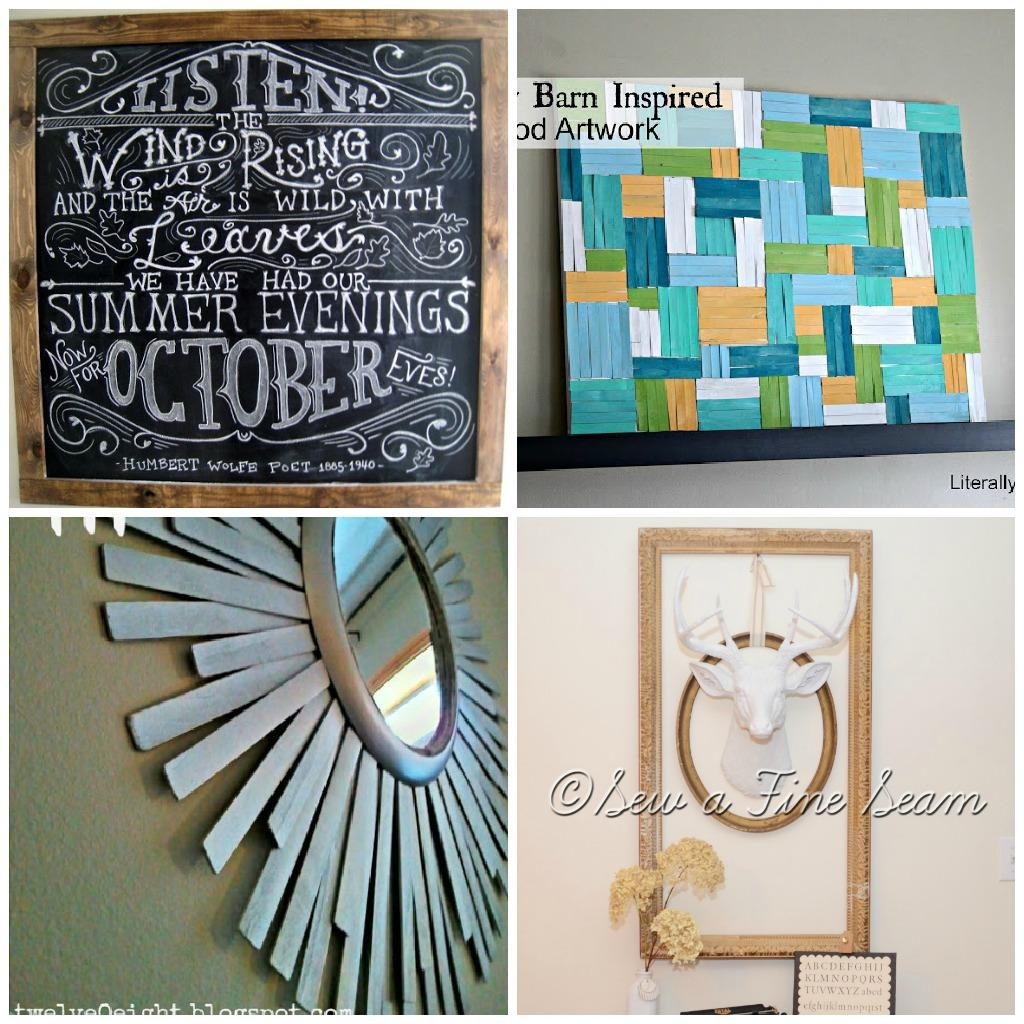 ▻ Decor : 84 Cheap Wall Decor Ideas Decorating Large Walls Nice Throughout Cheap Wall Art And Decor (View 11 of 20)