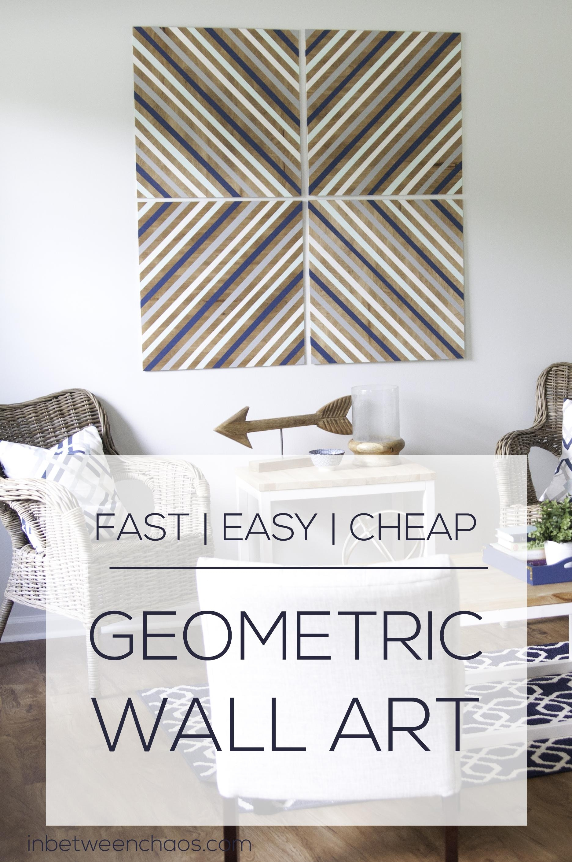 Easy And Cheap Big Wall Art Within Cheap Big Wall Art (View 3 of 20)