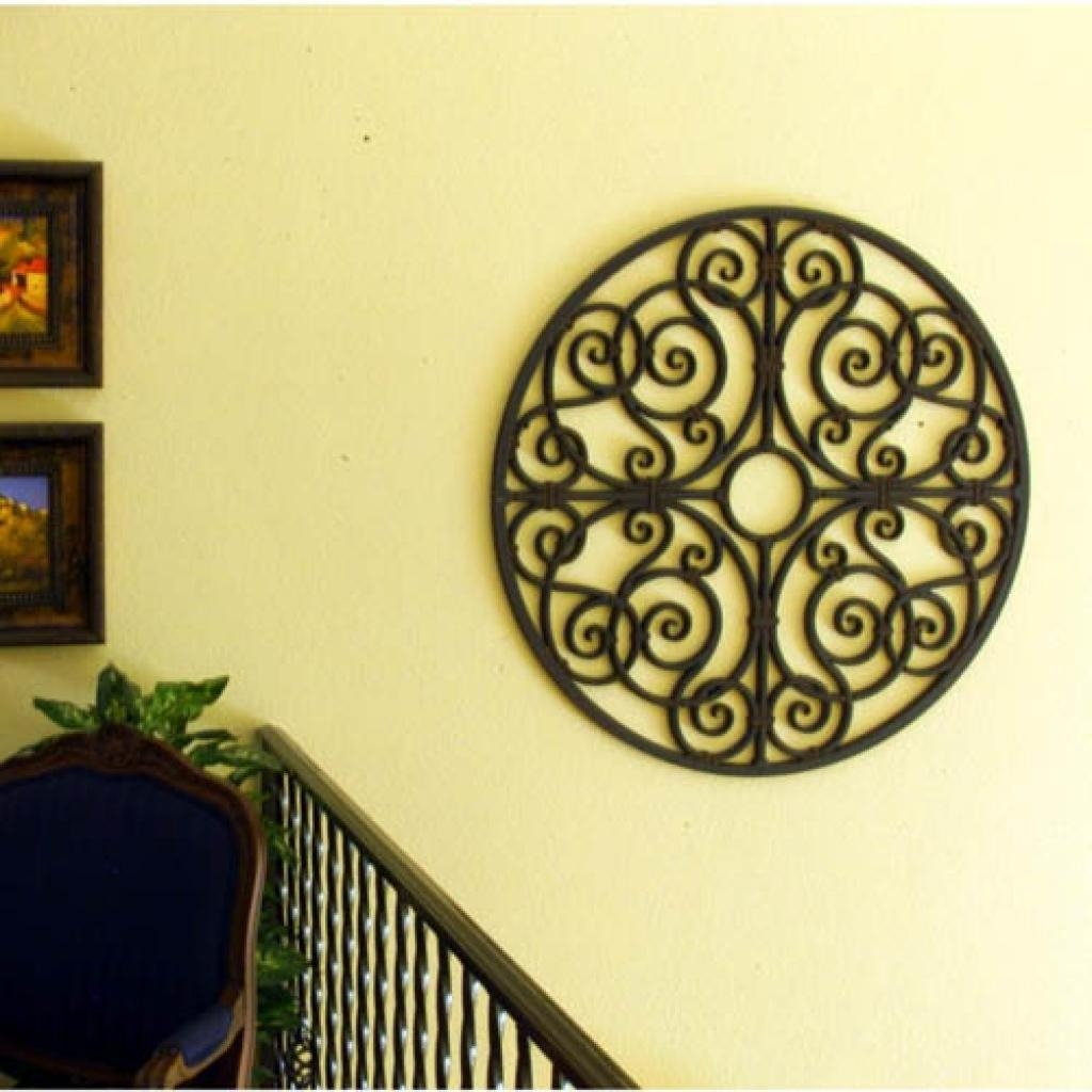 Easy Diy Iron Wall Art! Faux Wrought Iron Wall Decor Wonderfull Within Faux Wrought Iron Wall Art (View 6 of 20)