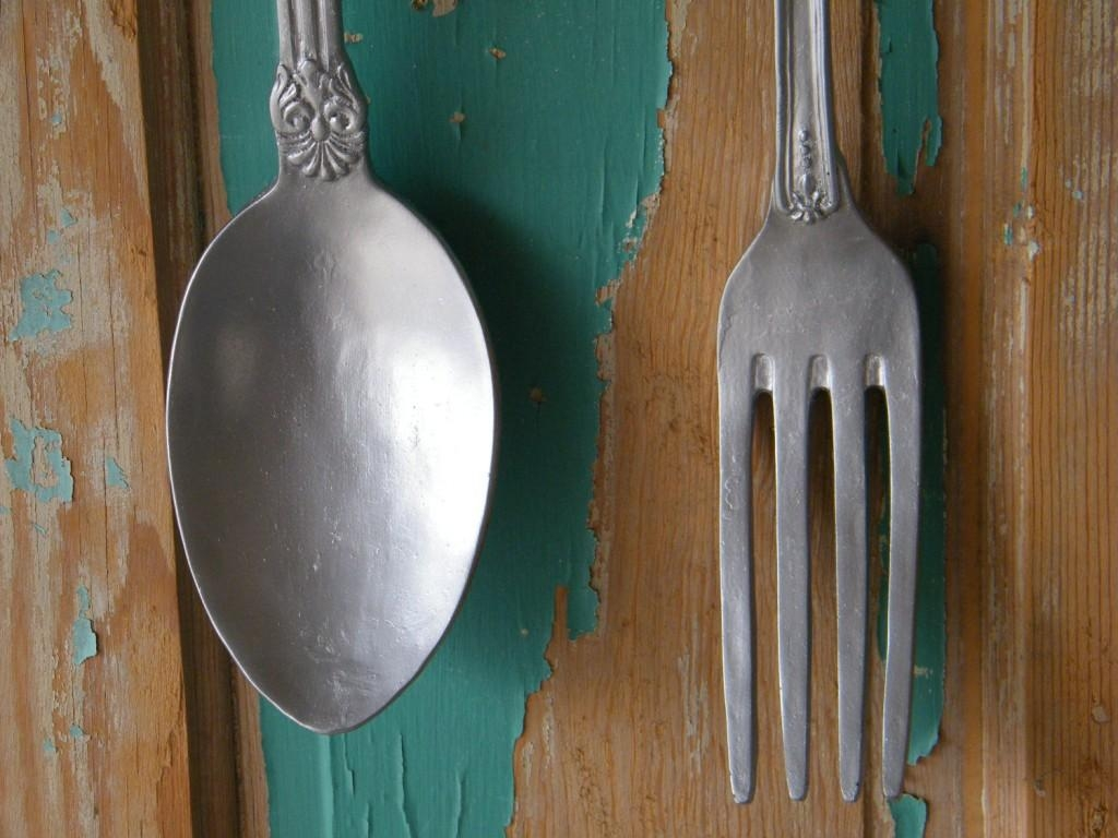 Easy Fork Wall Decor Ideas — Decor Trends Regarding Giant Fork And Spoon Wall Art (Image 6 of 20)