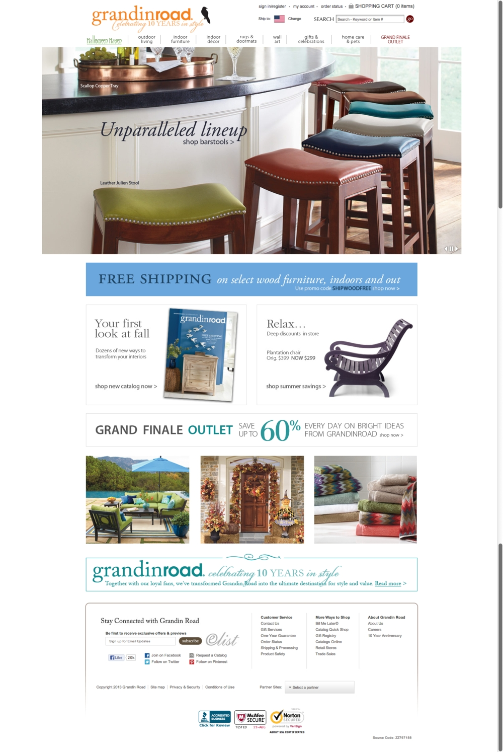 Ecommerce Websites — 5 Star Net – Internet Success Inside Grandin Road Wall Art (View 5 of 20)