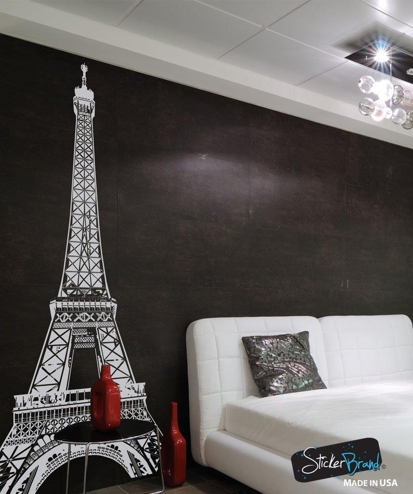 Eiffel Tower Decor In Metal Eiffel Tower Wall Art (View 3 of 20)