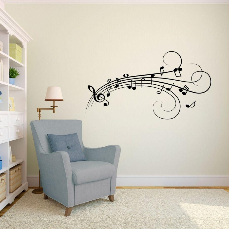 Enchanting Music Wall Art Canada Music Note Wall Art Wall Ideas With Regard To Music Note Wall Art (Image 3 of 20)