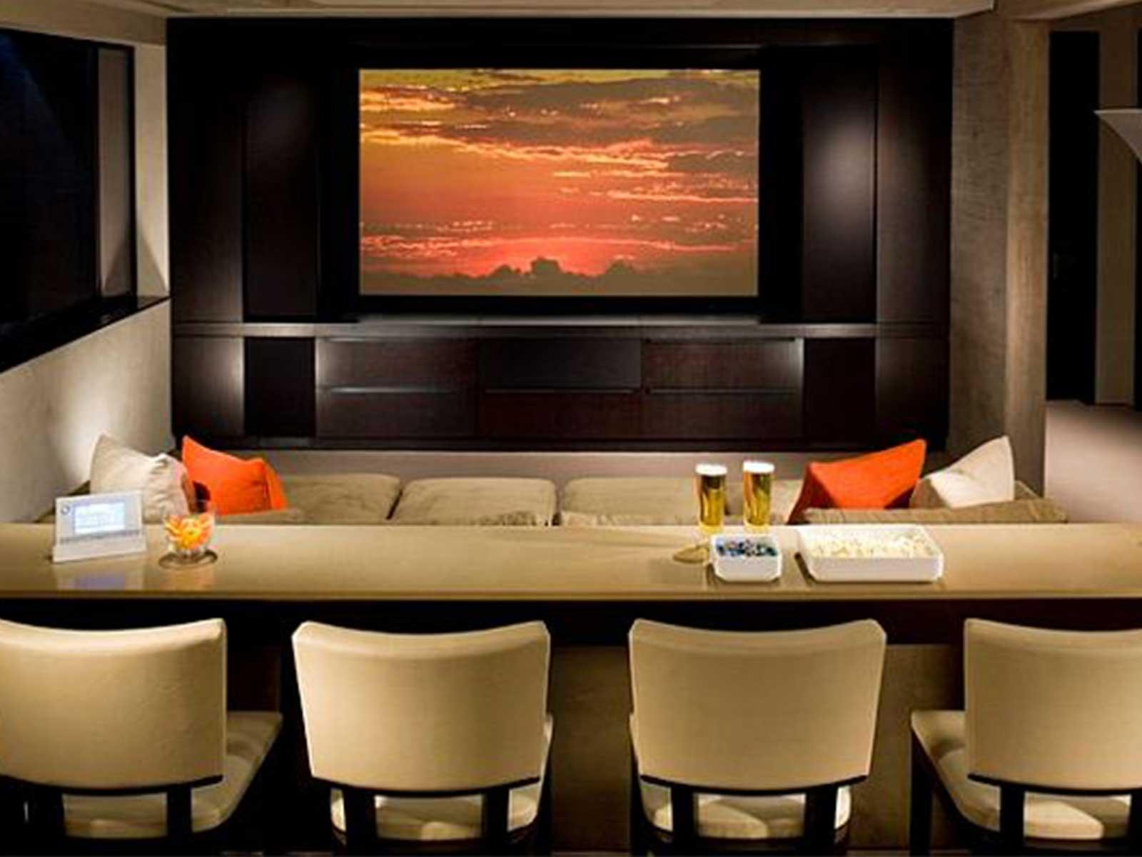 Enchanting Wall Decor Home Theater Decal Design With Art 20 Ideas Of
