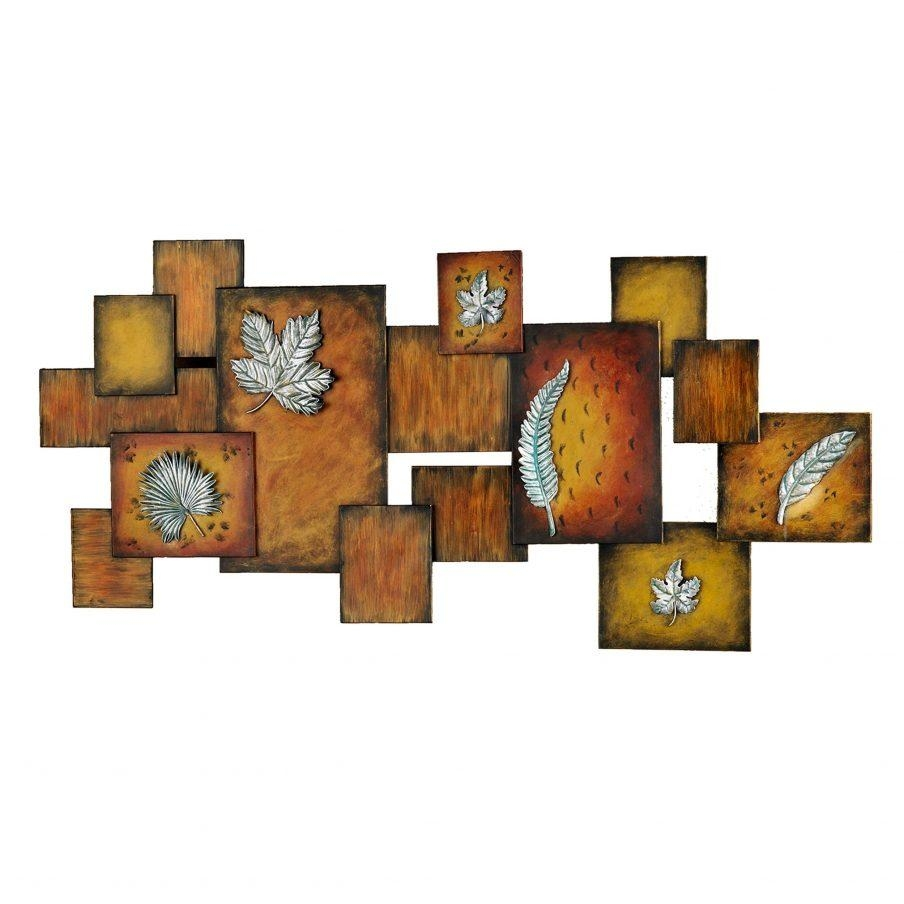 Enchanting Wall Design View Larger Metal Wall Art With Clock Intended For Abstract Wall Art With Clock (Image 5 of 20)