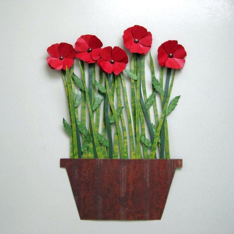 Exterior Wall Art Metal – Bookpeddler With Metal Poppy Wall Art (View 6 of 20)