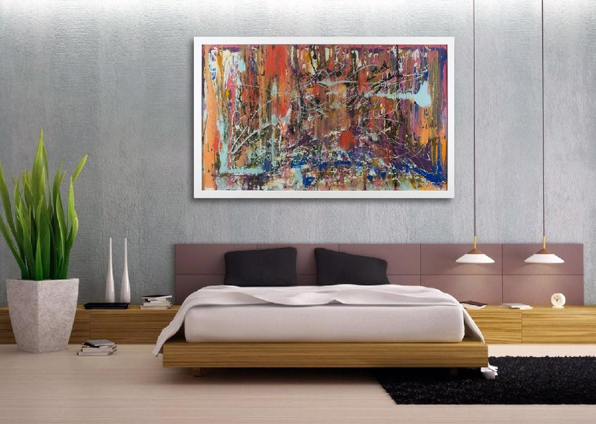 20 collection of extra large framed wall art wall art ideas for Contemporary mural art