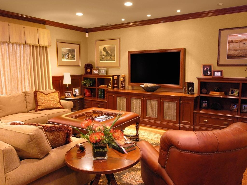 Extraordinary Built In Wall Units For Living Rooms Living Room Intended For Media Room Wall Art (Image 6 of 20)