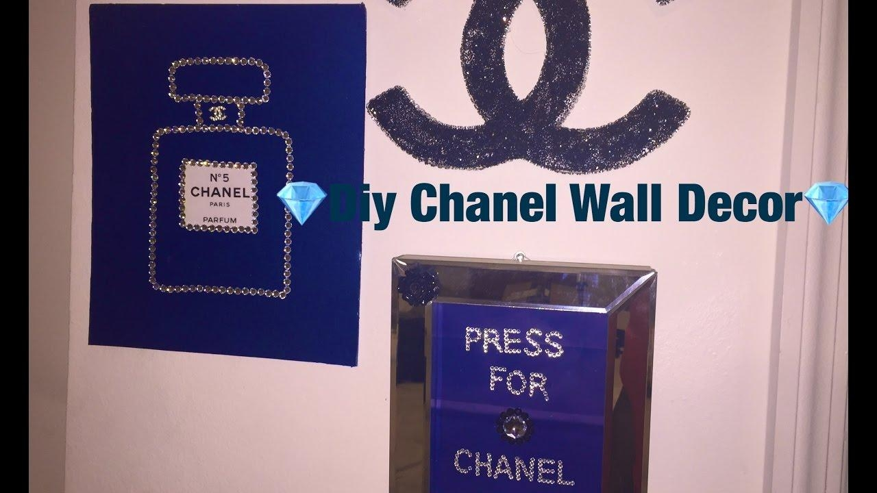?diy Chanel Wall Decor? – Youtube With Chanel Wall Decor (Image 1 of 20)