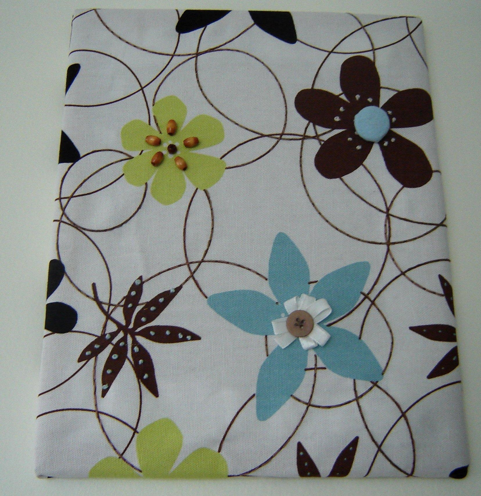 Fabric Panel Wall Art With Embellishments: 8 Steps (With Pictures) With Stretched Fabric Wall Art (Image 11 of 20)