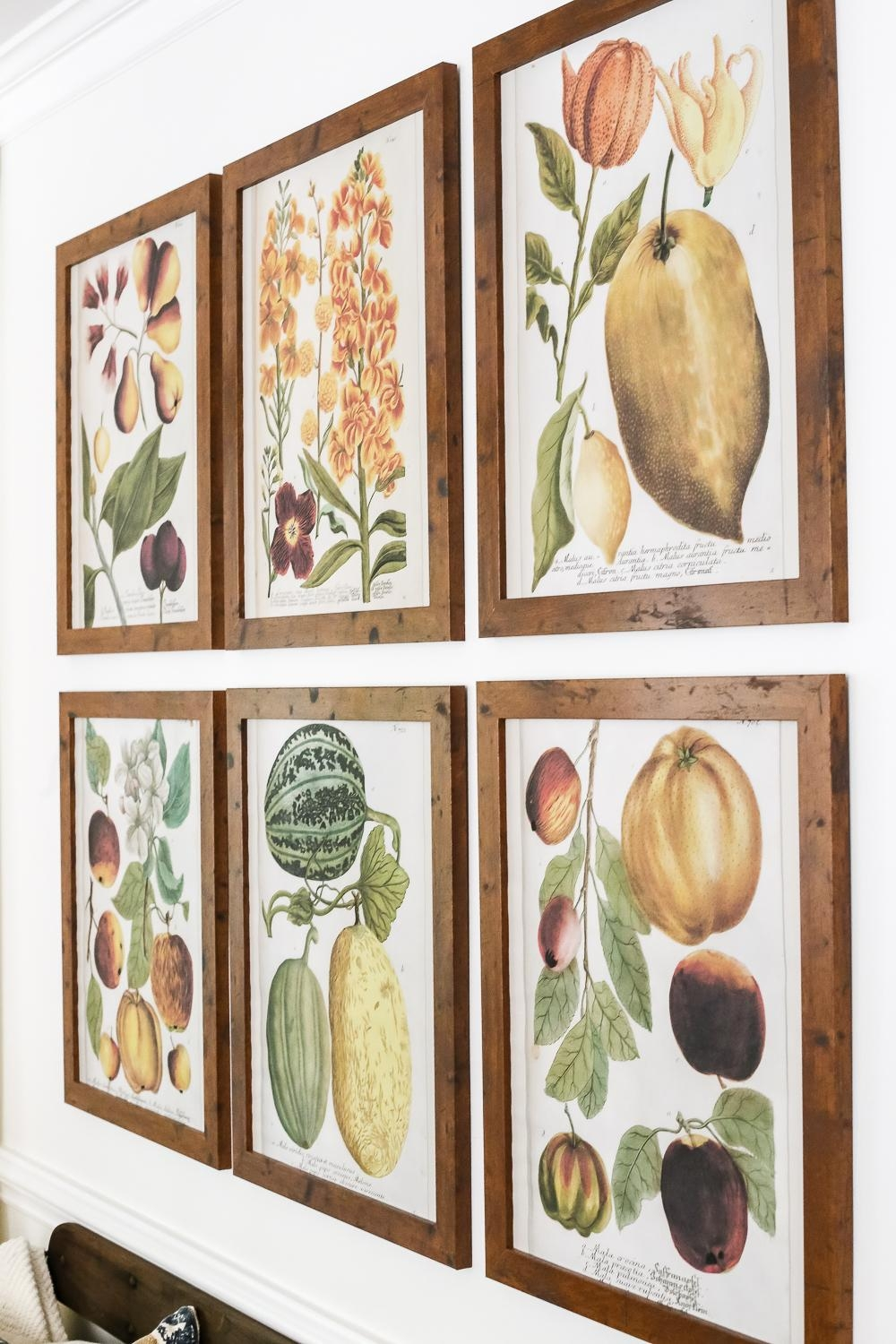 Fall Botany Art Gallery Wall Printables – Bless'er House Regarding Autumn  Inspired Wall Art (Image 15 of 20)