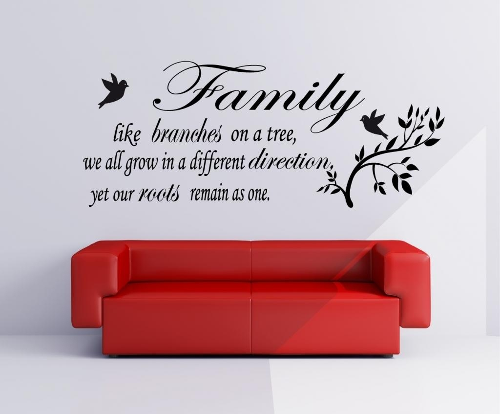 Family Quote Wall Art – Daily Quotes Of The Life Regarding Inspirational Sayings Wall Art (View 5 of 20)
