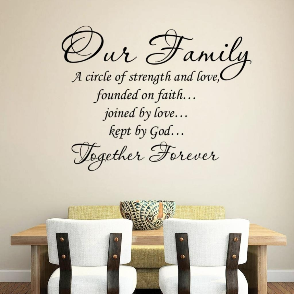 Family Quote Wall Art Family Wall Quotes Inspirational Quotesgram Intended For Family Photo Wall Art (View 9 of 20)