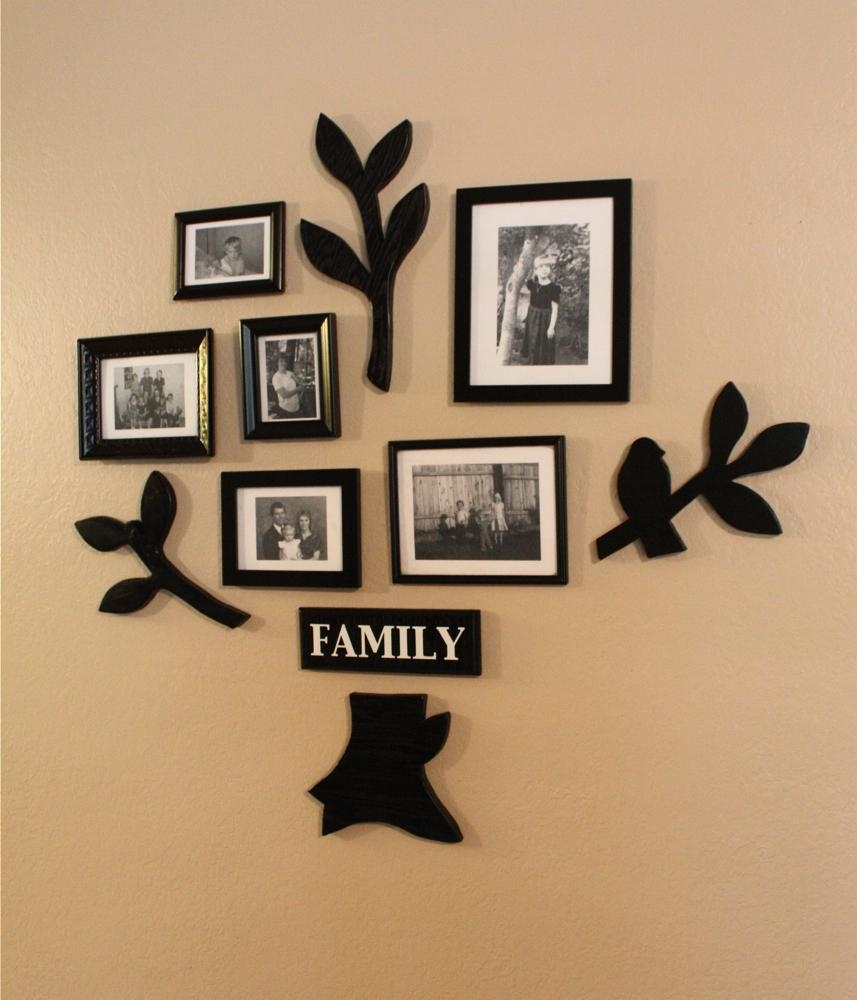 Family Tree Wall Art With Family Photo Wall Art (View 2 of 20)