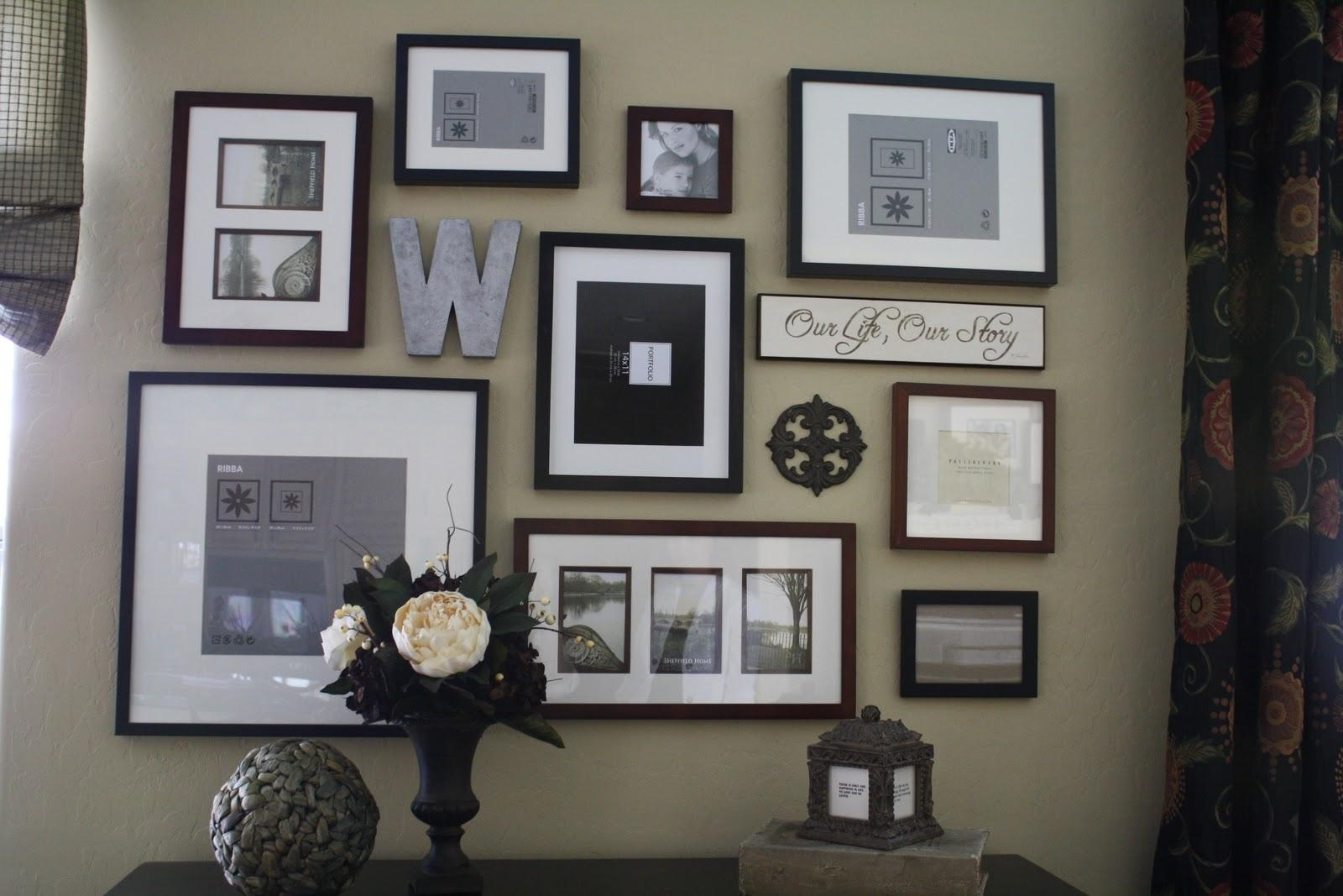 Family Wall Art Picture Frames | Wallartideas With Regard To Wall Art Frames (Image 11 of 20)