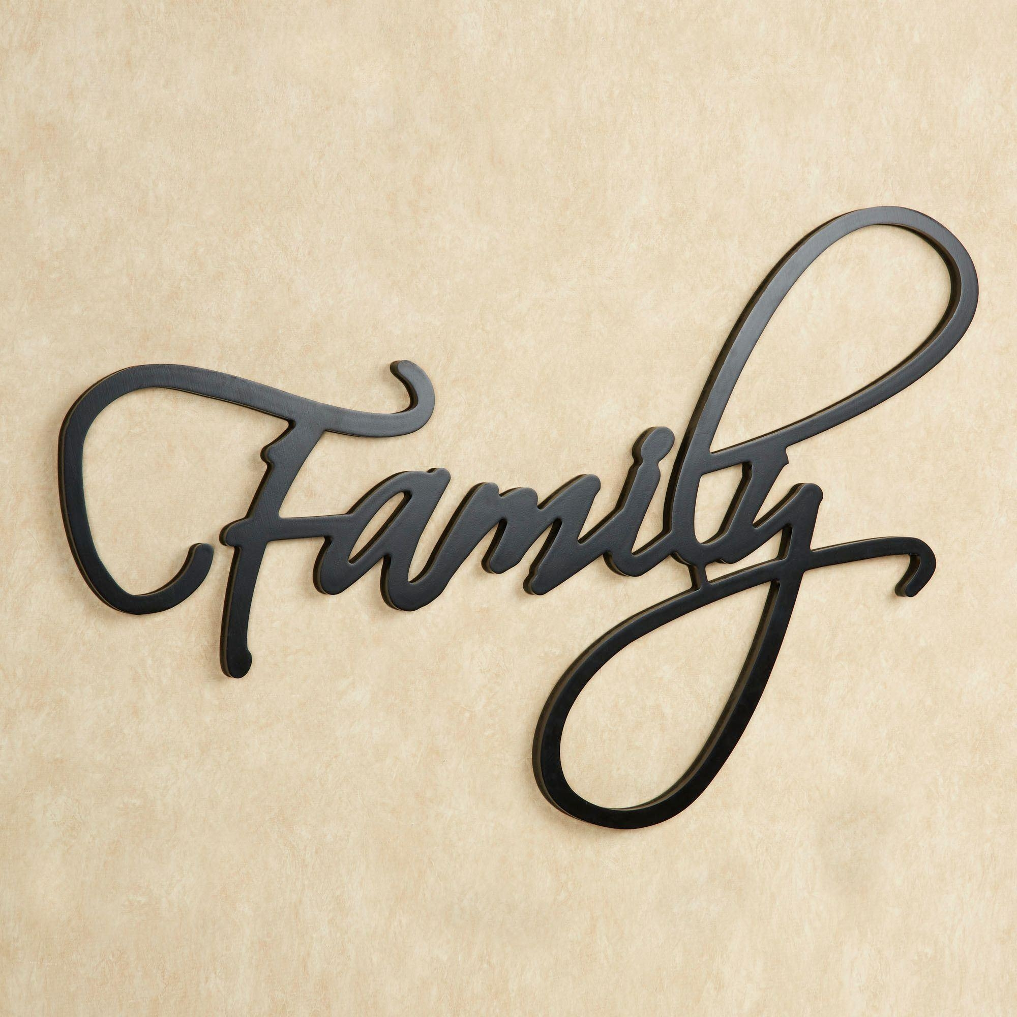 Family Word Wall Art With Regard To Family Photo Wall Art (View 12 of 20)
