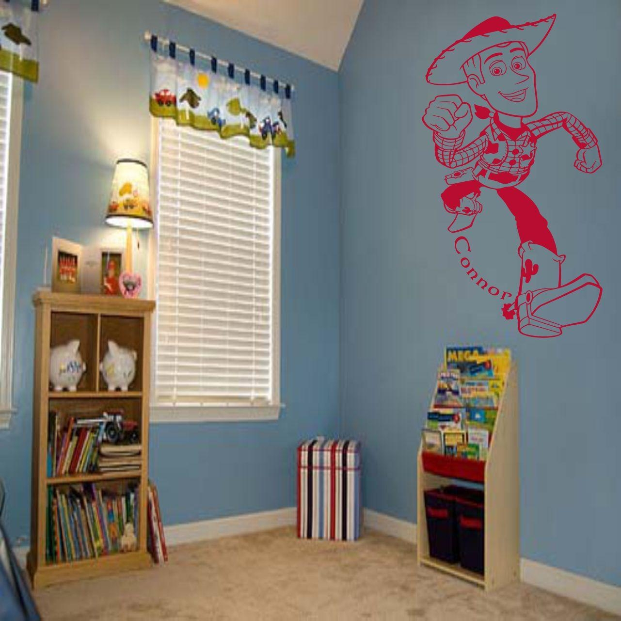 Fantastic Toy Story Woody Wall Art Decal Vinyl Sticker Wall For Toy Story Wall Stickers (View 14 of 20)