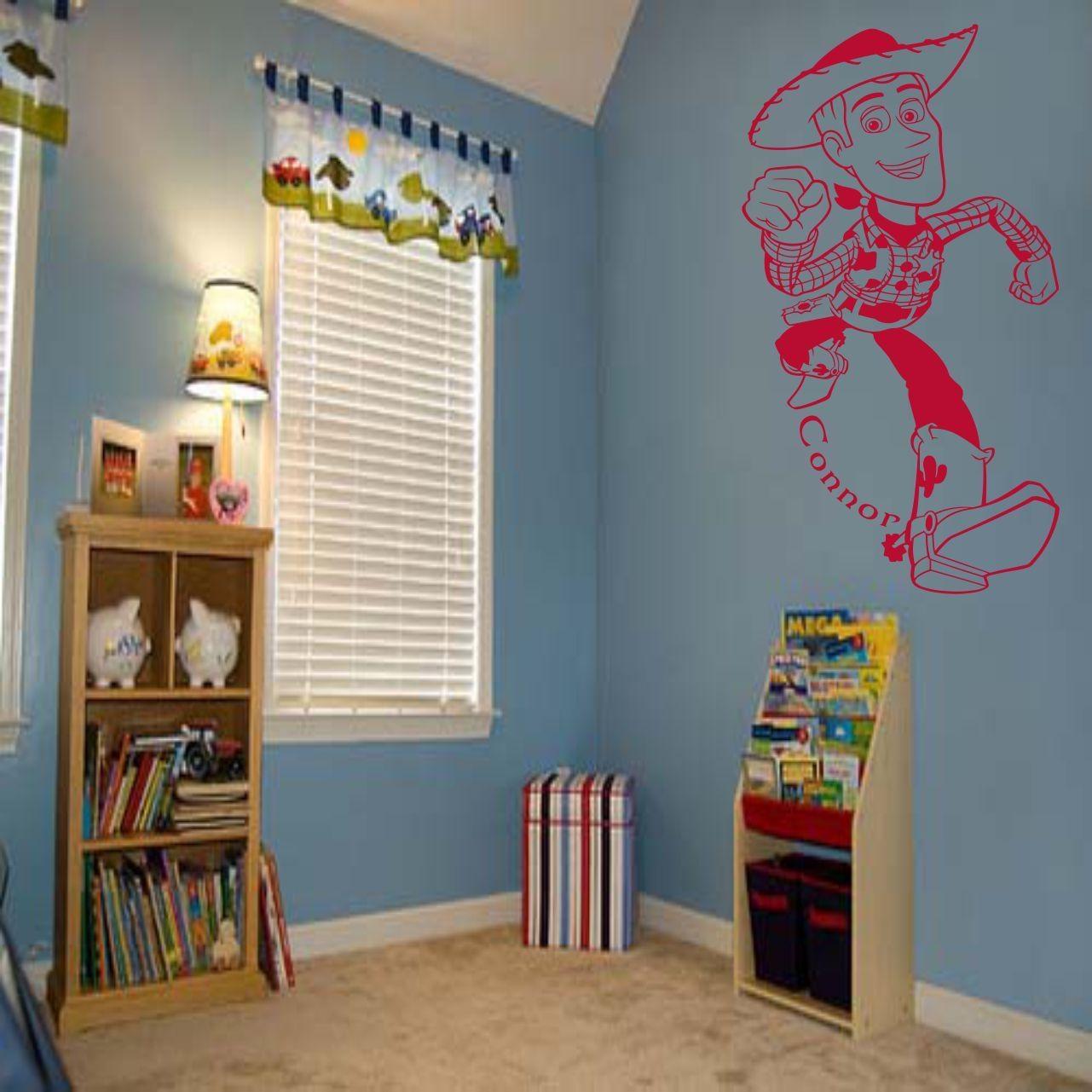 Fantastic Toy Story Woody Wall Art Decal Vinyl Sticker Wall For Toy Story Wall Stickers (Image 9 of 20)