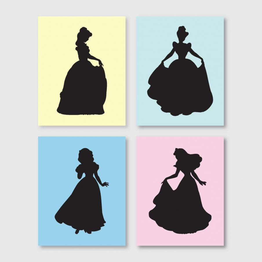 Fascinating Disney Princess Wall Art Walmart Girls Room Decor Wall With Regard To Disney Princess Wall Art (Image 13 of 20)