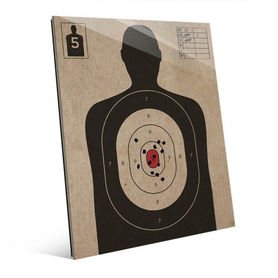 Fascinating Target Wall Art Wood Sports Canvas Wall Art Target Inside Target Metal Wall Art (Image 4 of 20)