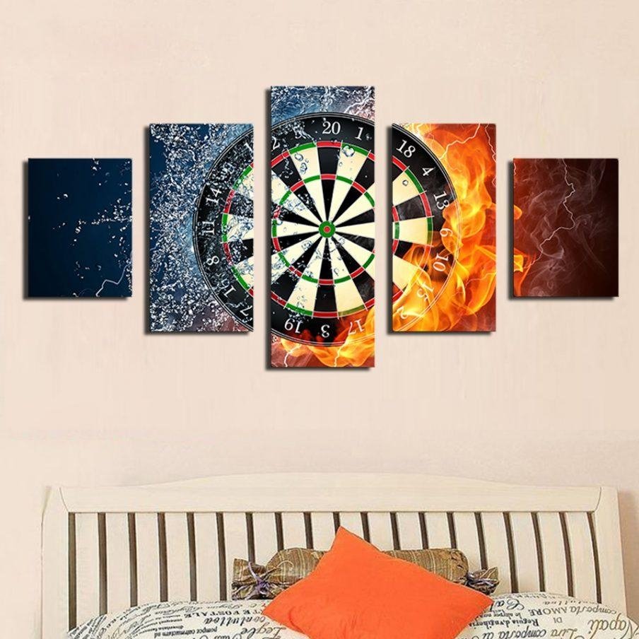 Fascinating Target Wall Art Wood Sports Canvas Wall Art Target Throughout Target Metal Wall Art (Image 5 of 20)