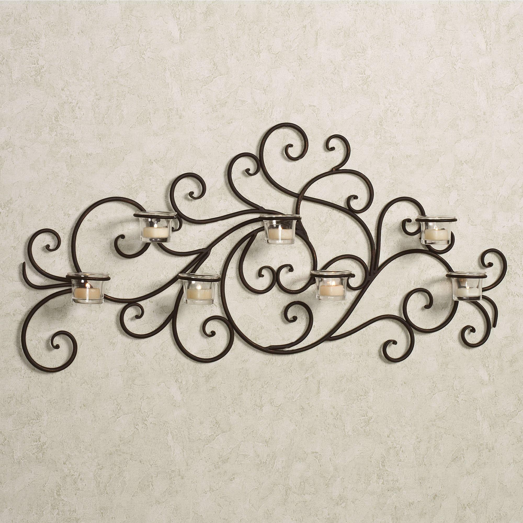 Faux Wrought Iron Wall Decor : Home Designing – Black In Wrought Regarding Faux Wrought Iron Wall Decors (Image 11 of 20)