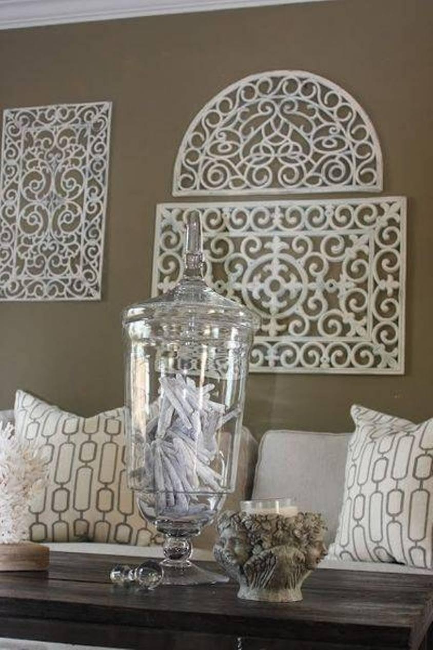 Faux Wrought Iron Wall Decor : The Elegant Wrought Iron Wall Decor Regarding Faux Wrought Iron Wall Decors (Image 12 of 20)