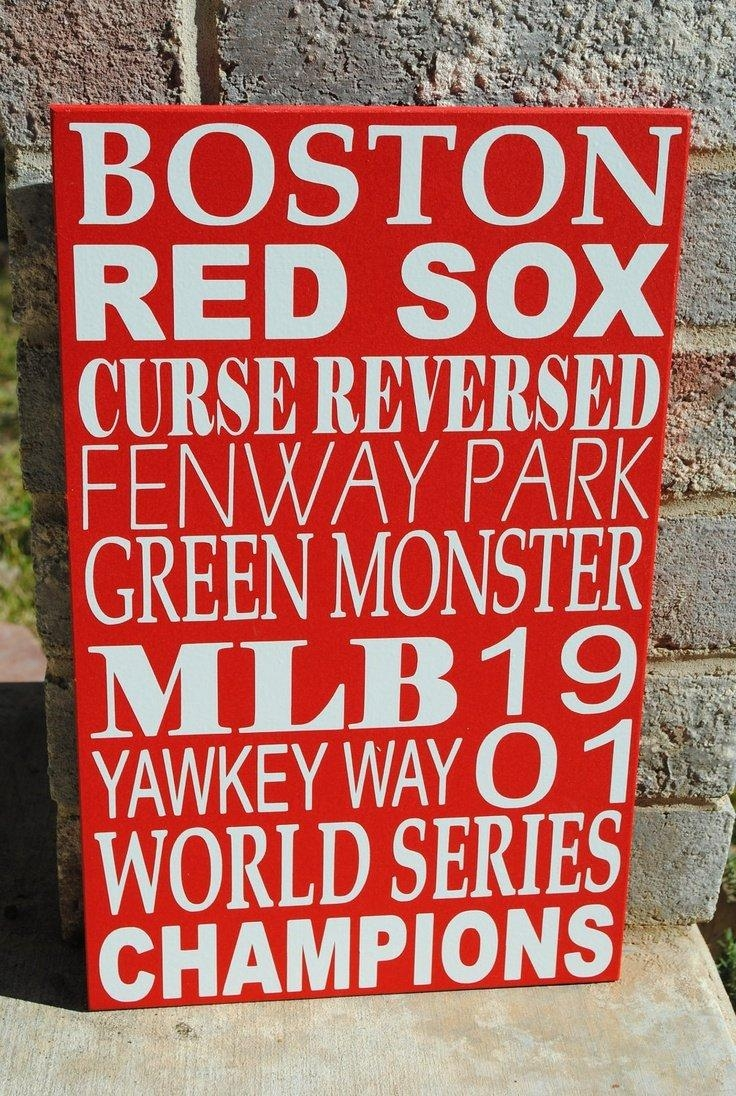 Fenway Fathead Red Sox Furniture Boston Impressivecanvascom Lamp In Red Sox Wall Decals (View 7 of 20)
