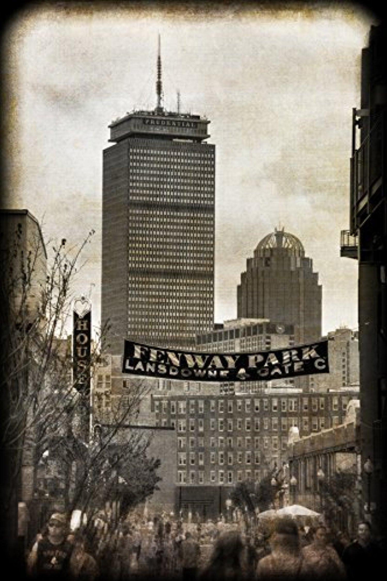 Fenway Park Vintage Print – Vintage Red Sox Wall Art – Boston Pertaining To Red Sox Wall Art (Image 15 of 20)