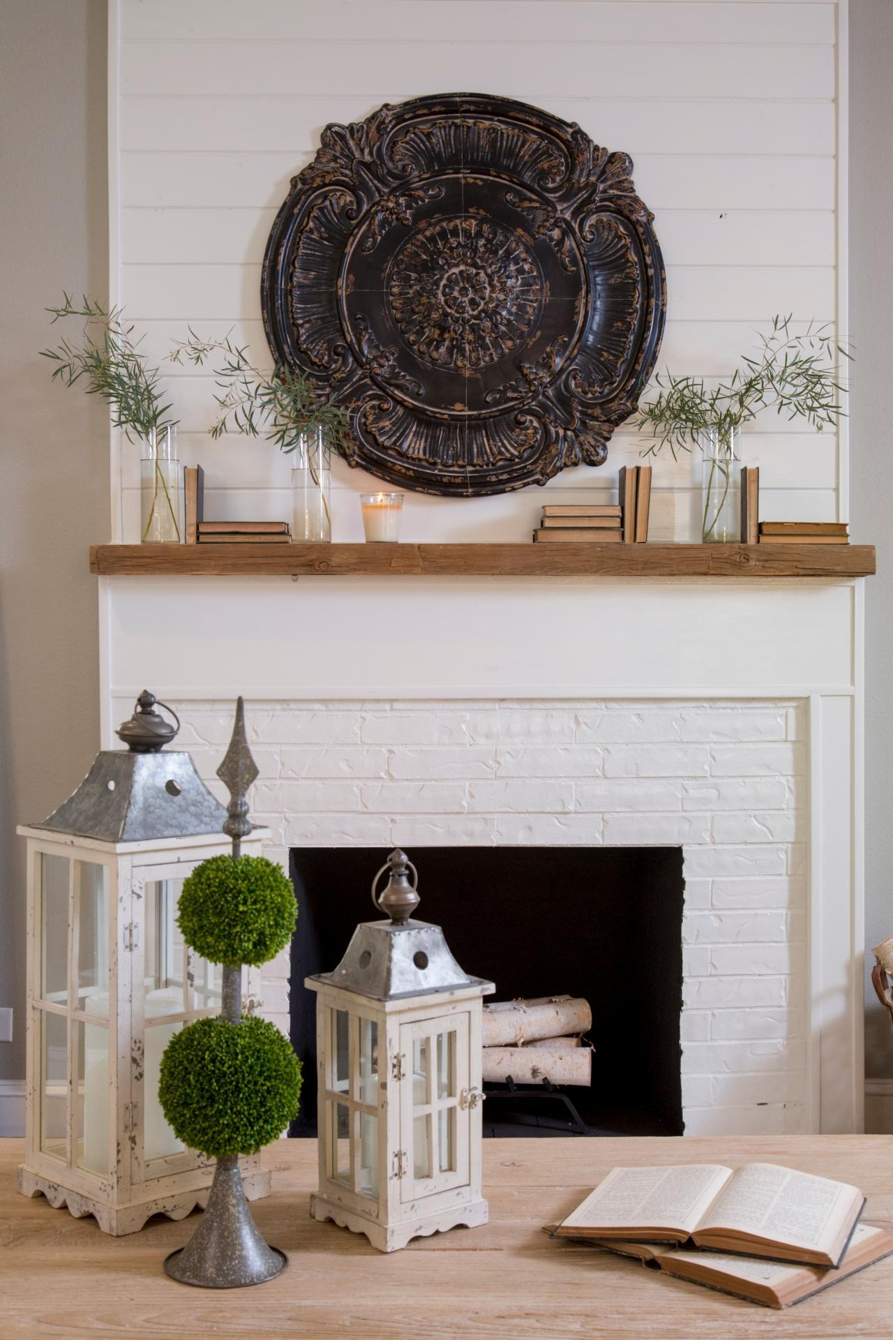Fill Your Walls With 'fixer Upper' Inspired Artwork: 11 Easy To Throughout Fireplace Wall Art (View 3 of 20)
