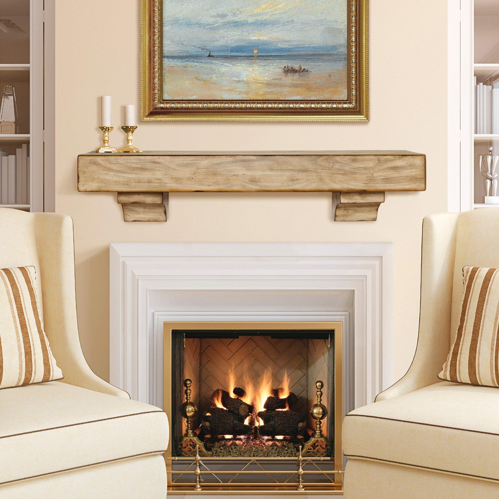 Fireplace: Breathtaking Traditional Wood Fireplace Mantel With Regarding Fireplace Wall Art (View 15 of 20)