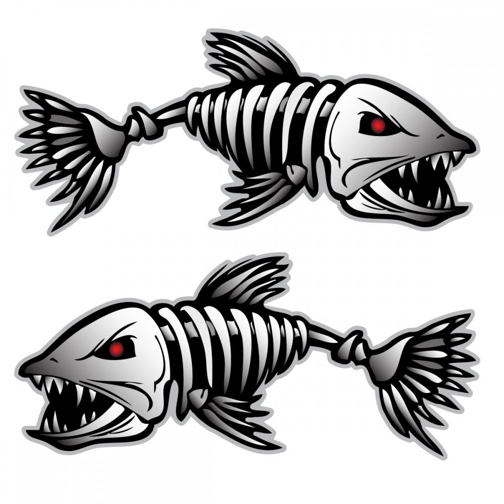 Fish Bones | Free Download Clip Art | Free Clip Art | On Clipart Inside Fish Bone Wall Art (Image 12 of 20)