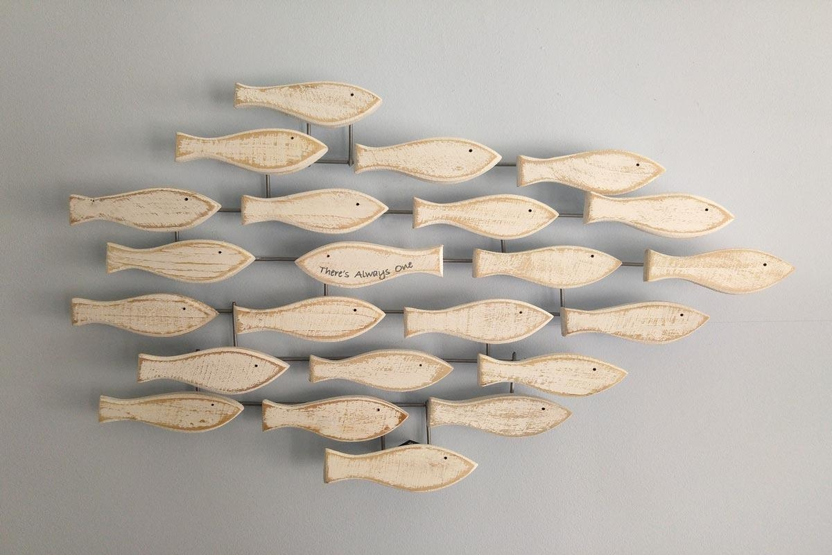 """Fish Shoal Wall Art 