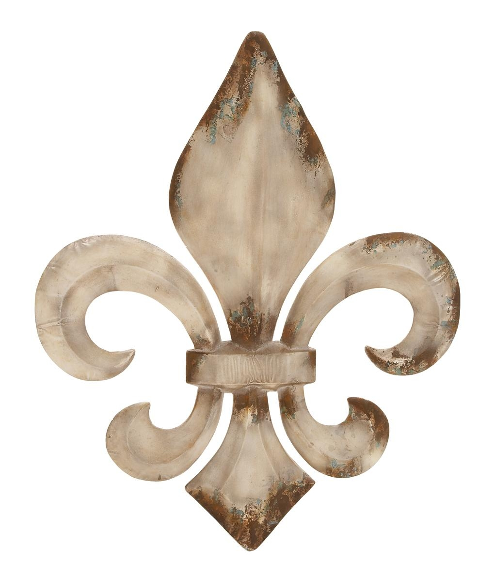 Fleur De Lis Metal Wall Decor | Design Ideas And Decor Throughout Tuscan Wrought Iron Wall Art (Image 6 of 20)