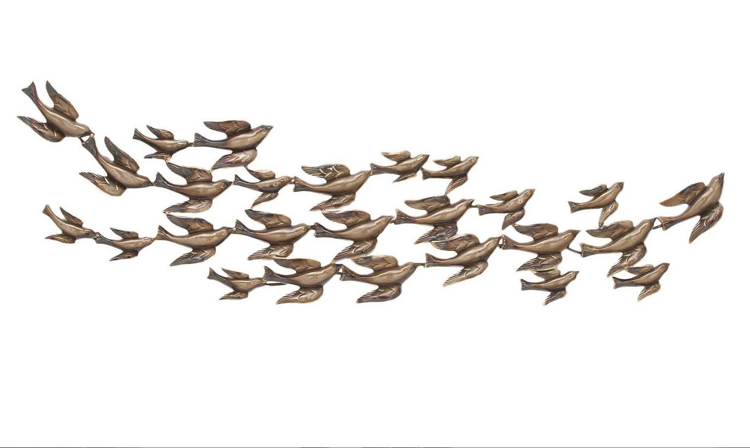 Flying Birds Metal Wall Art Urban Designs Flock | Home Interior Regarding Flock Of Birds Metal Wall Art (View 4 of 20)
