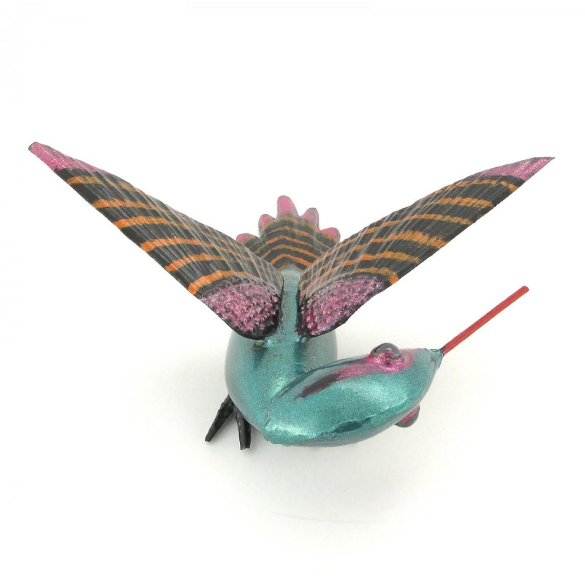 Flying Hummingbird Sheet Metal Art Mexico Intended For Mexican Metal Art (Image 11 of 20)