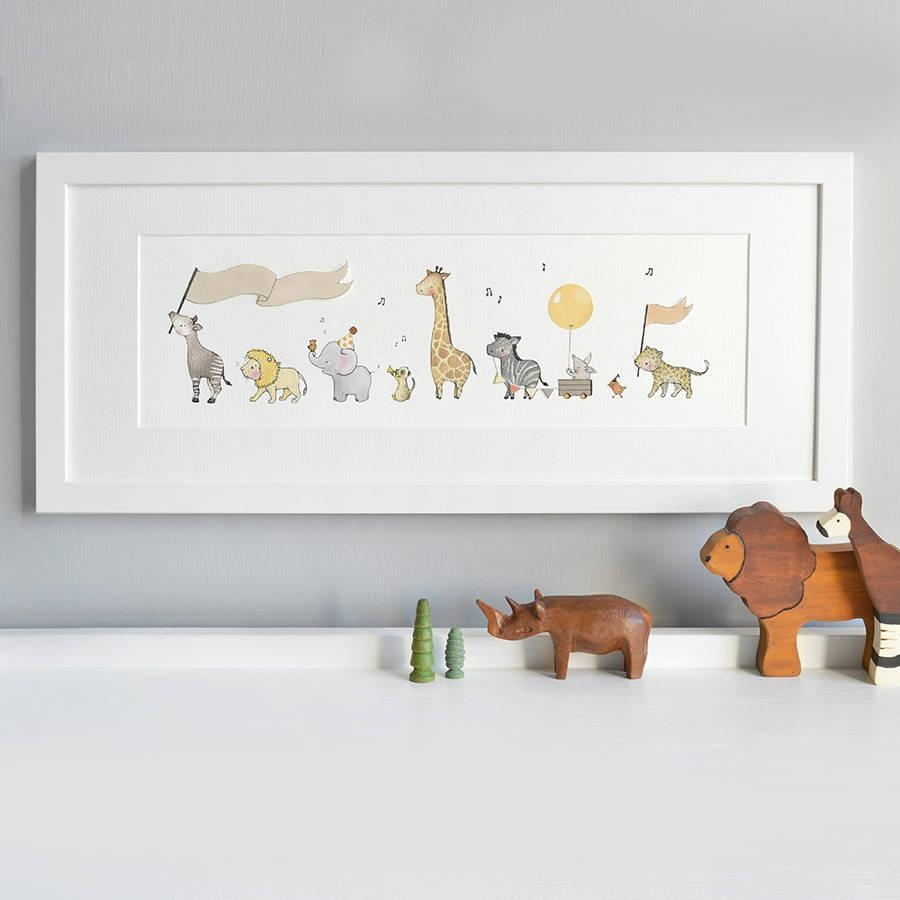Featured Photo of Nursery Framed Wall Art
